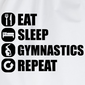eat_sleep_gym_repeat_7_1f Magliette - Sacca sportiva