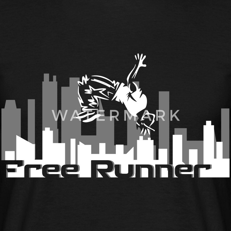 Parkour/Freerun T-shirts - Mannen T-shirt