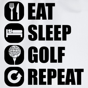 eat_sleep_golf_repeat_2_1f T-shirts - Gymnastikpåse