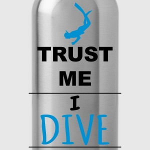 Trust me I Dive Sports wear - Water Bottle