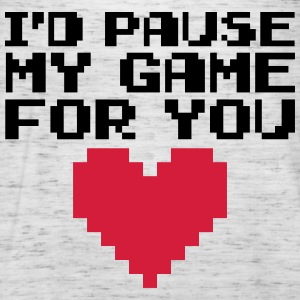 Pause My Game For You  Sweaters - Vrouwen tank top van Bella