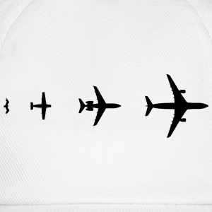 Aircraft Evolution T-shirts - Baseballkasket