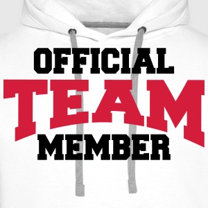 Official Team Member Long sleeve shirts - Men's Premium Hoodie