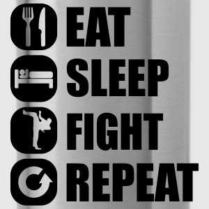eat_sleep_fight_repeat_2_1f Tops - Water Bottle