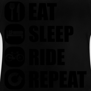 eat_sleep_ride_repeat_14_1f T-shirts - Baby-T-shirt