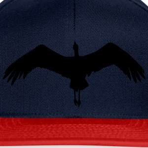 flying stork T-Shirts - Snapback Cap