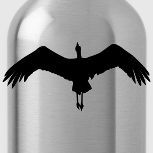 flying stork T-Shirts - Water Bottle