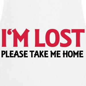 I'm lost - Please take me home T-shirts - Förkläde