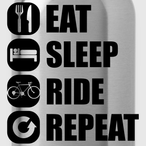 eat_sleep_ride_repeat_8_1f Pullover & Hoodies - Trinkflasche