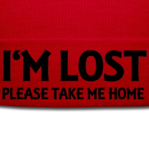 I'm lost - Please take me home Shirts met lange mouwen - Wintermuts