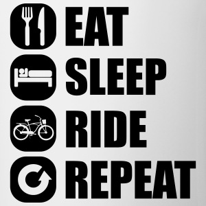 eat_sleep_ride_repeat_1_1f Koszulki - Kubek