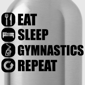 eat_sleep_gym_repeat_341f Magliette - Borraccia