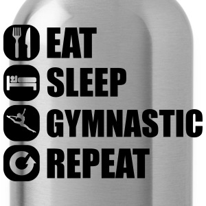 eat_sleep_gymnastic_repeat_2_1f Koszulki - Bidon