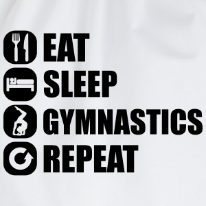 eat_sleep_gym_repeat_341f Magliette - Sacca sportiva