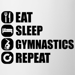 eat_sleep_gym_repeat_341f Koszulki - Kubek