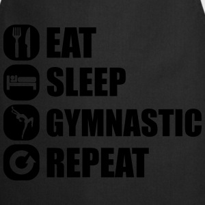 eat_sleep_gymnastic_repeat_1_1f Toppe - Forklæde