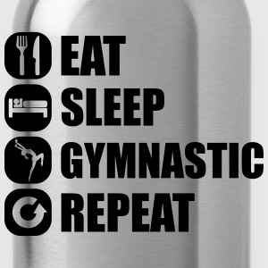 eat_sleep_gymnastic_repeat_1_1f Koszulki - Bidon