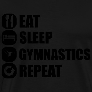 eat_sleep_gym_repeat_1_1f Baby-bodyer - Herre premium T-shirt