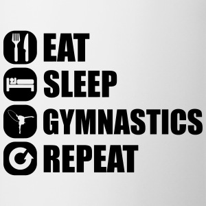 eat_sleep_gym_repeat_1_1f Skjorter - Kopp