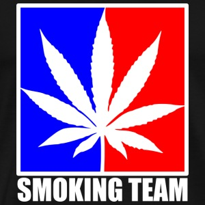 smoking team Casquettes et bonnets - T-shirt Premium Homme