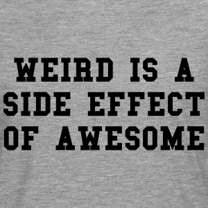 Weird Awesome  T-skjorter - Premium langermet T-skjorte for menn