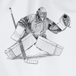 hockey goalkeeper Shirts - Drawstring Bag