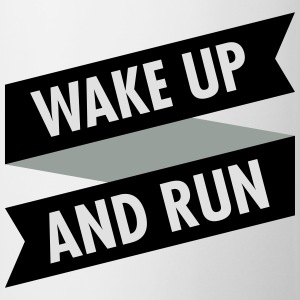 Wake Up And Run T-skjorter - Kopp