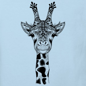 A head of a giraffe Baby Bodysuits - Kids' Organic T-shirt