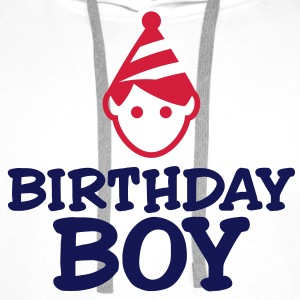 Birthday Boy Tee shirts - Sweat-shirt à capuche Premium pour hommes