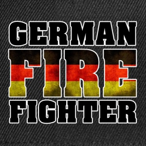 German Fire Fighter Shirt - Snapback Cap