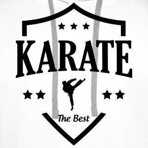 Karate / Karateka / Sport / Martial Art / Fighter Tee shirts - Sweat-shirt à capuche Premium pour hommes
