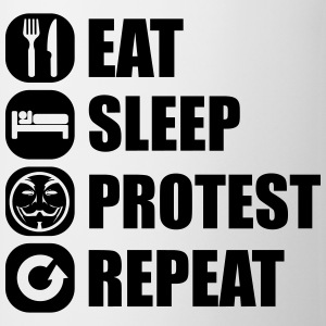 eat_sleep_fuck_protest_22_1f Langarmshirts - Tasse