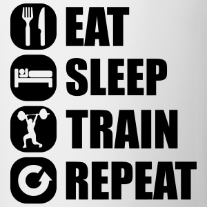 eat_sleep_train_repeat_14_1f Débardeurs - Tasse