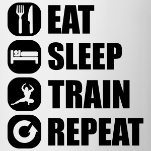 eat_sleep_train_repeat_13_1f Tee shirts - Tasse