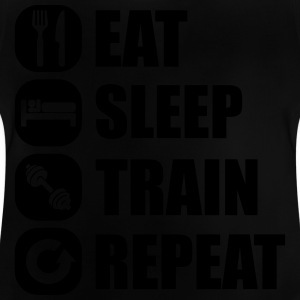 eat_sleep_train_repea T-Shirts - Baby T-Shirt