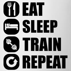 eat_sleep_train_repeat_11_1f Långärmade T-shirts - Mugg