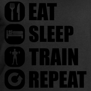 eat_sleep_train_repeat_10_1f Tee shirts - Sweat-shirt Homme Stanley & Stella