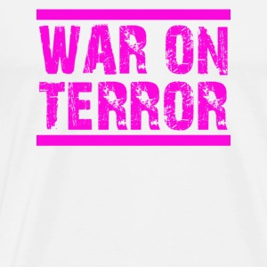 WAR ON TERROR - Männer Premium T-Shirt