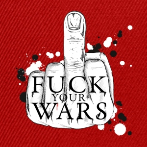 Fuck your wars Top - Snapback Cap