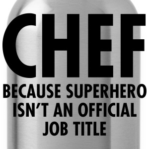 Chef - Superhero T-shirts - Drinkfles