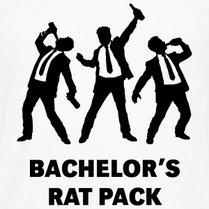 Bachelor's Rat Pack (Stag Party Groom Team / Illu) T-Shirts - Men's Premium Longsleeve Shirt