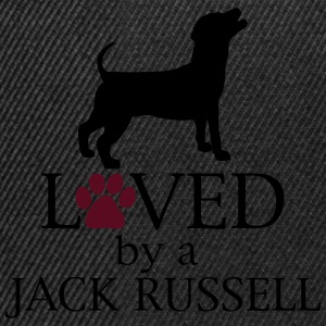 Loved by a Jack Russell Felpe - Snapback Cap