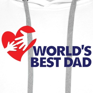 Best Father of the World Shirts - Men's Premium Hoodie