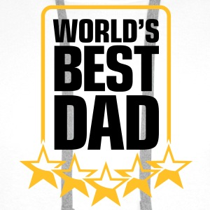 Best Father of the World T-Shirts - Men's Premium Hoodie