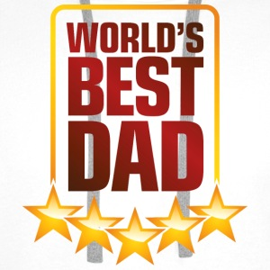 Best Father of the World Mugs & Drinkware - Men's Premium Hoodie