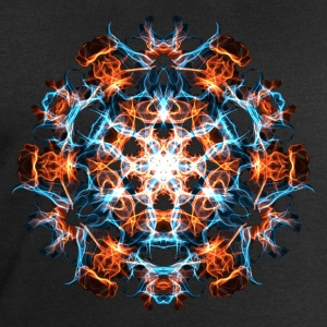 Power Symbol, Fractal, Energy, Hero, Superhero Tee shirts - Sweat-shirt Homme Stanley & Stella