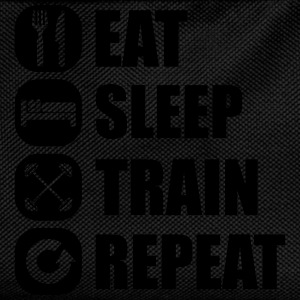 eat_sleep_train_repeat_7_1f Sudaderas - Mochila infantil