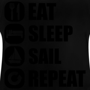 eat_sleep_sail_repeat_12_1f Magliette - Maglietta per neonato