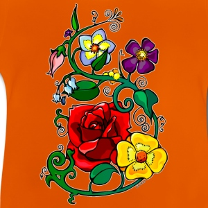 Kid's T-shirt Flowers - Baby T-Shirt