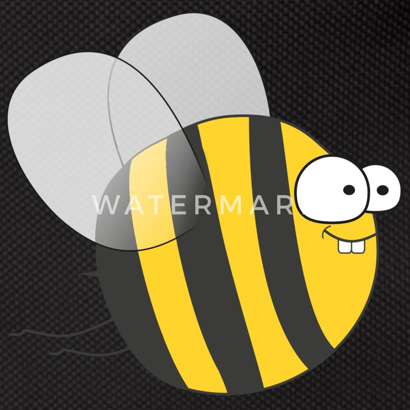 Cool & Crazy Funny Bee / Bumble Bee (Sweet & Cute) Bags & Backpacks - Bum bag